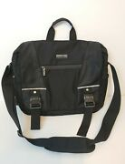 Kenneth Cole Reaction 536460 R-tech 17 Laptop Notebook Computer Case Black Used