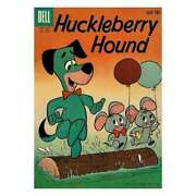 Huckleberry Hound 1959 Series 2 In Very Good + Condition. Dell Comics [9f]