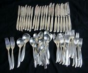 82 Pcs Of Silverplate Airline Flatware Twa Trans World Airlines