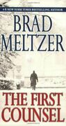 The First Counsel By Brad Meltzer. 9780446572187