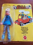 Vintage 1977 Mattel The Archies - Sabrina Doll New In Original Package Rare