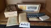 Ho Scale Train Box Car Kit Metal Roundhouse Kmt And Other Parts Nice Group