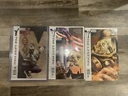 Y The Last Man 1 First Print Htf 3 And 4 3 Book Lot Show Coming
