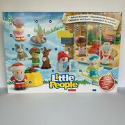 2016 Fisher-price Little People Advent Calendar - New In The Box
