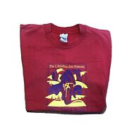 Vintage Columbus Zoo Tee Shirt Cycling Safari 1999 Double Sided Pepsi Red Size L