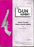 Gun Report Colt Single Action Special American Percussion Bowie Knife 6 1973