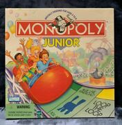 Monopoly Junior Vintage Board Game Parker Brothers Hasbro 1999 Brand New Sealed