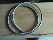 Harley 72 Braided Stainless Extended Clutch Cable Softail Flh Fx Xltransmission