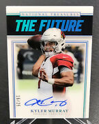 2019 Nt National Treasures Kyler Murray The Future Rookie Auto /25 Rc Sp Cards