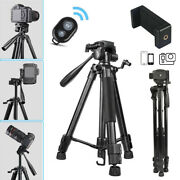 Professional Camera Tripod Stand W/remote For Cell Phone Dslr Canon Gopro Travel