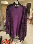 Jones New York Cashmere Cardigan 3x New Without Tags V30