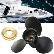 9 X 9 Aluminum Marine Boat Outboard Propeller For Merury 6-15hp 48-828156a1