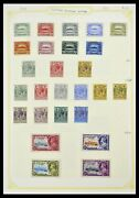 Lot 34358 Stamp Collection British Colonies In The Pacific 1908-1980.
