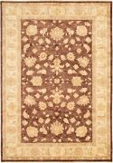 Vintage Geometric Hand-knotted Carpet 6and03910 X 9and03910 Traditional Wool Area Rug