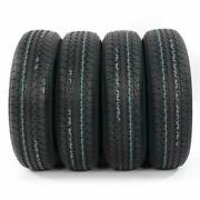 4 St20575r15 8 Ply Trailer Tires 75r Factory Direct Rubber Str Ii