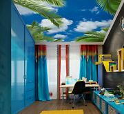 3d Cloud Leaves Zhu1616 Ceiling Wall Paper Wall Print Decal Wall Deco Amy