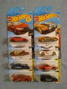 Hot Wheels Lot Of 8 Mixed Die Cast Cars