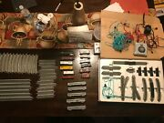 Complete N Scale Bachmann Train Set With Starter Track Pack And Freight Cars