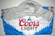Coors Light Winter Holiday One-piece Hooded Jumpsuit Adult Size Xl Brand New