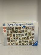 Ravensburger 3000 Piece Jigsaw Puzzle Animal Stamps No 17 0791
