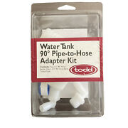 Todd Water Tank 90 Degree Pipe-to-hose Adapter Kit 93-2223
