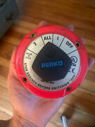 Marine 4 Position Duel Battery Selector Switch Isolator Disconnect Perko 8501dp