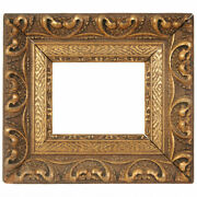 Beautiful Antique Wooden Frame For Painting Gesso Gilding Art Nouveau Style Nice