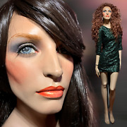 Decter Vintage 80s Realistic Full Female Mannequin Haunting Woman Life Size