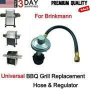 Replacement Low Pressure Hose And Regulator Brinkmann Bbq Grill Gas Parts Kit