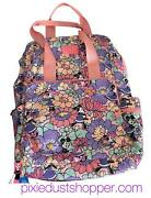 Disney Minnie Mouse Garden Party Cooler Backpack By Vera Bradley