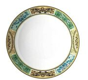 Versace By Rosenthal Barocco Mosaic Plate Deep 22 Cm / 8.66 In New