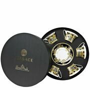 Versace By Rosenthal Prestige Gala Set With 6 Tea Cup And Saucer New