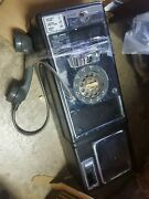 Vintage Rotary Pay Phone Payphone W/ Coin Slots Wall Telephone For Booth