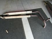 1969 Corvette Original Side Pipe Covers And Small Block 2 Inch Pipes