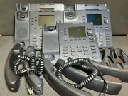 Lot Of 5 Mitel Aastra 6867i Color Display Business Office Ip Phone