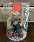 Byers Choice Zoom Kindle With Camera Christmas Bendable Figure Ornament