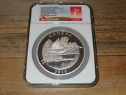 2015 Canada Conservation Whooping Crane 1/2 Kilo Silver Ngc Pf70 1st Ultra Cameo