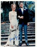 Diana Rigg And George Lazenby Signed 8x10 On Her Majestyand039s Secret Service Photo