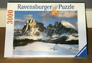 🧩 New Vtg 1993 Ravensburger 3000 Pc R. Kirsch Mountains Puzzle Germany Sealed
