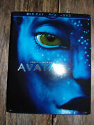 New James Cameron's Avatar Film Sci-fi Movie Blu-ray And Dvd 2-disc Collectors Set