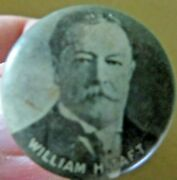 William H. Taft 27th President Of The United States Picture Political Pin
