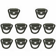 10pack Heavy Duty V Ring Bolts Tie Down Anchor For Truck Trailer Warehouse Boat