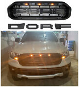 Car Grill For Ford Ranger 20192021 T8 Xlt With Led Light Raptor Style   Us