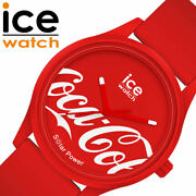 Ice Watch X Coca-cola Collaboration Unisex Red W/limited Case Free Shipping New
