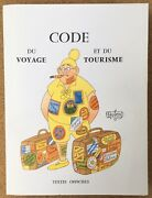 Code Travel Tourism Albert Dubout 54 Illustrations + Suite In Black 1andegravere Ed 1960