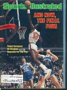 Sports Illustrated Ralph Sampson Johnny Bench Ronnie Darling 3/30 1981