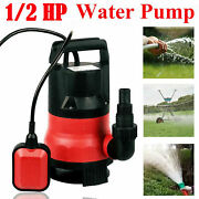2100gph Submersible Sump Pump With 25ft Cord Water Sub Pump Empty Pool Pondred