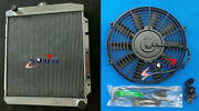 Radiator + Fan For Buick Special Super Roadmaster W/chevy V8 1950-1952 1951 Mt