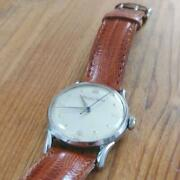 1950s Manual Cal.89 Vintage Menand039s Watch Rare Blue Second Hand
