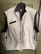 Nike Acg Outer Layer 3 Tactical Utility Vest Quilted Liner Khaki Tan Men Xl/xxl